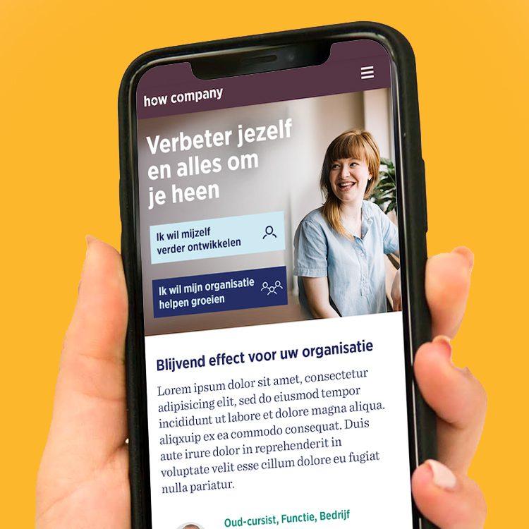 Merkidentiteit How Company - Mobile