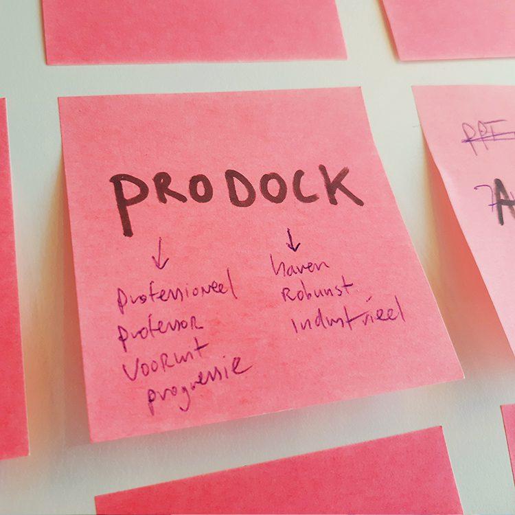 Prodock naam en content