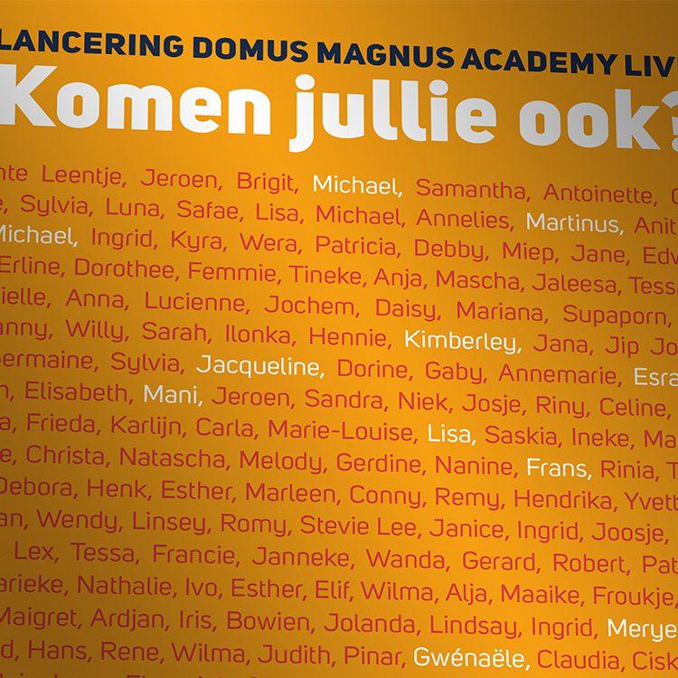 Domus Magnus – Leven is..