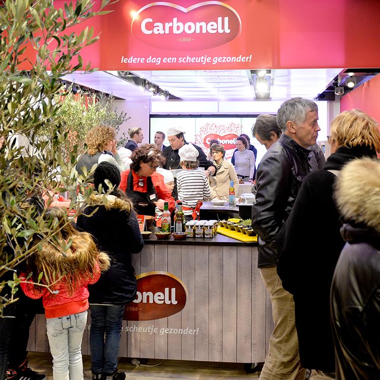 Pop-up store voor Carbonel
